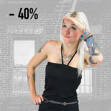 40% reduziert