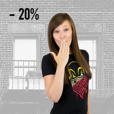20% reduziert