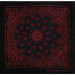 MasterDis Bandana Original Paisley black/red