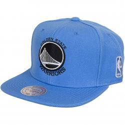 Mitchell & Ness Snapback Cap Rainbow Golden State Warrior blau