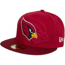 New Era 59Fifty Fitted Cap NFL Sideline Arizona Cardinal rot