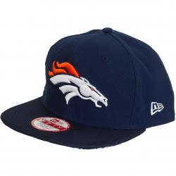 New Era 9Fifty Snapback Cap NFL Sideline Denver Broncos dunkelblau