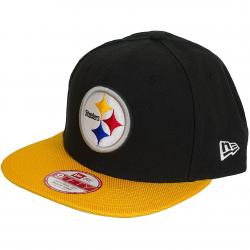 New Era 9Fifty Snapback Cap NFL Sideline Pittsburgh Steelers schwarz/gelb