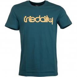 Iriedaily T-Shirt No Matter 4 blau/orange