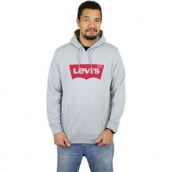 Levis Hoody Graphic Batwing grau