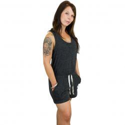 Nike Jumpsuit Gym Vintage schwarz/weiß