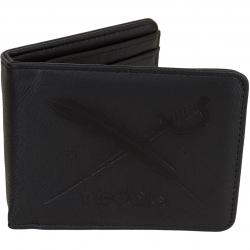 Iriedaily Wallet Flag 2 Punch schwarz