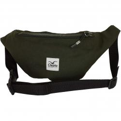 Bag Cleptomanicx Hemp Hip dark olive