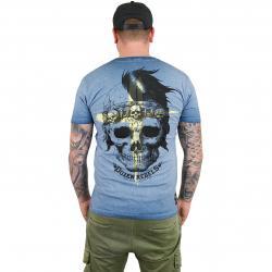 Yakuza Premium T-Shirt Vintage 200 dunkelblau