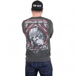 Yakuza Premium Sweatshirt 2524 anthrazit