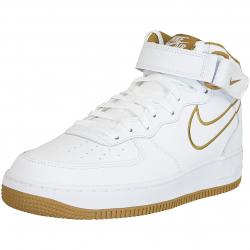 Nike Sneaker Air Force 1 Mid ´07 Leather weiß/braun