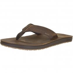 Reef FlipFlop Cushion Contoured Leather chocolate