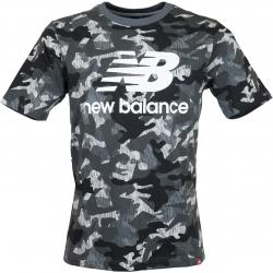 New Balance T-Shirt Printed Ess. Stacked Logo camouflage