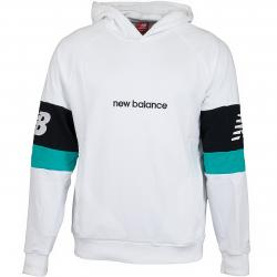 New Balance Hoody Athletic Classic weiß