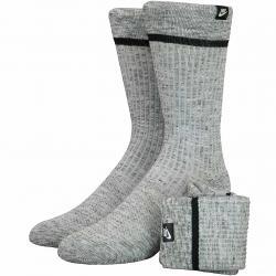 Nike Socken Essential Crew 2er grau/weiß
