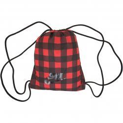 Nike Gym Bag Heritage 2.0 Gym rot/schwarz kariert
