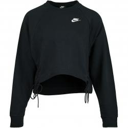 Nike Damen Sweatshirt Essential Fleece Tie schwarz