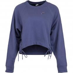 Nike Damen Sweatshirt Essential Fleece Tie purple