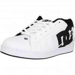 DC Shoes Sneaker Net weiß/schwarz/gold