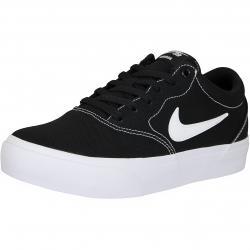 Nike SB Sneaker Charge Canvas schwarz/weiß