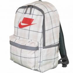 Nike Rucksack Heritage 2.0 weiß kariert