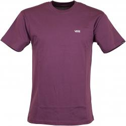 Vans T-Shirt Left Chest Logo prune