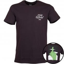 Iriedaily T-Shirt WTFucktus dunkelrot