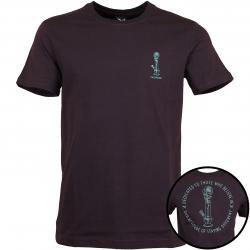 Iriedaily T-Shirt Rosebong dunkelrot