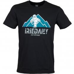 Iriedaily T-Shirt Stay Yeti schwarz