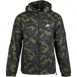 Nike Jacke Camo grün/weiss