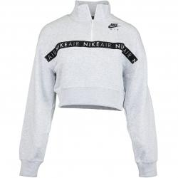 Nike Damen Sweatshirt Air HZ hell grau