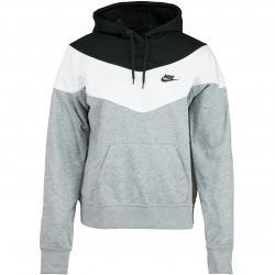 Nike Damen Hoody Heritage grau/schwarz/weiß