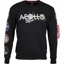 Alpha Industries Sweatshirt 50 Patch schwarz