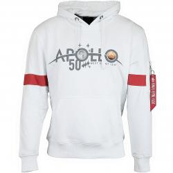 Alpha Industries Hoody Apollo 50 Reflective weiß