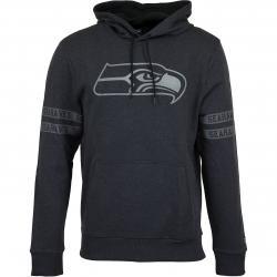 New Era Hoody NFL Tonal Seattle Seahawks schwarz/schwarz