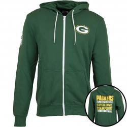 New Era Hoody NFL Large Graphic Packers grün