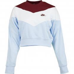 Nike Damen Sweatshirt Heritage blau/weiß/rot