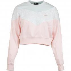 Nike Damen Sweatshirt Heritage pink/grau/blau