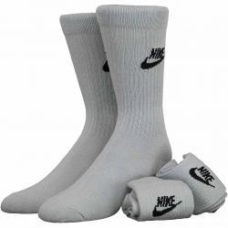 Nike Socken Essential Crew 3er grau