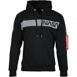 Alpha Industries Hoody NASA RS schwarz