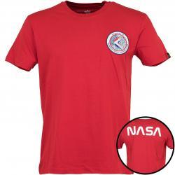 Alpha Industries T-Shirt Apollo 15 rot