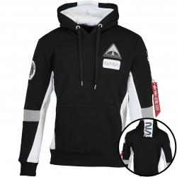 Alpha Industries Hoody Space Camp schwarz