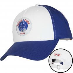 Alpha Industries Snapback Cap Space Camp blau/weiß