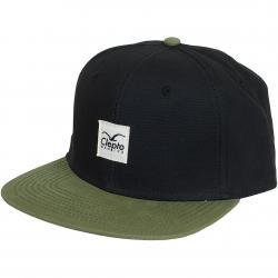 Cleptomanicx Snapback Cap Badger 2 schwarz