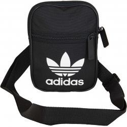 Adidas Originals Mini Tasche Festival Trefoil schwarz/weiß