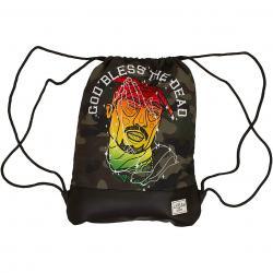 Cayler & Sons Gym Bag White Label Bless schwarz