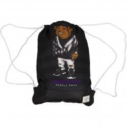 Cayler & Sons Gym Bag White Label Purple Swag schwarz