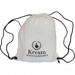 Kream Gym Bag Hotel weiß/schwarz