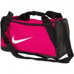 Nike Tasche Brasilia Duffel (Small) pink/weiß