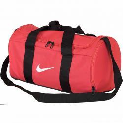 Nike Damen Trainingstasche Team Duffle rot/schwarz